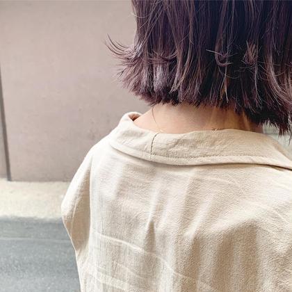 人気No.1【パーソナルカラー診断付き】似合わせカット 透明感カラー クイックトリートメント