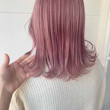 【黒髪卒業式🌸】ハイブリーチ(ケアブリーチ2回)+全体カラー