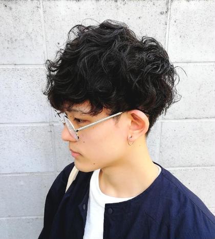 【メンズ✨】 メンズカット + ニュアンスパーマ+ダメージ改善トリートメント