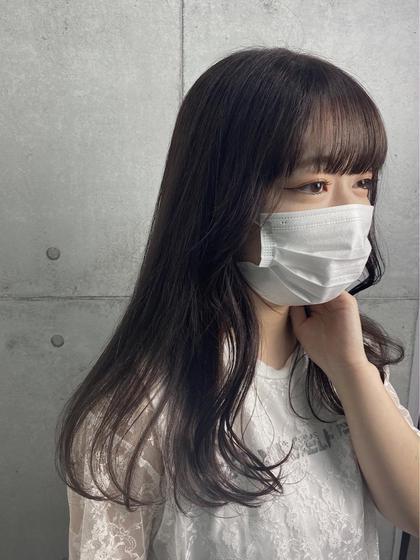 🤍カット+ワンカラー+内部補修トリートメント✨✨