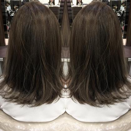 highlight× color Hair Make Ash所属・寺内紳悟のスタイル