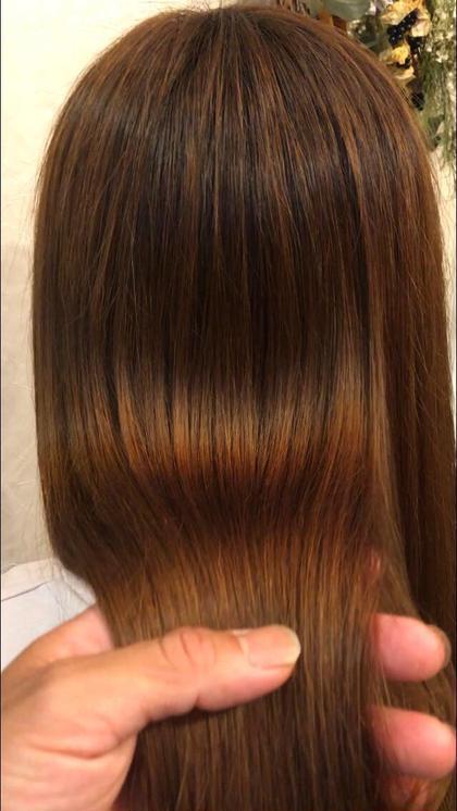 ✨話題の艶髪✨【サイエンスアクア】美髪チャージカラー+カット✂️