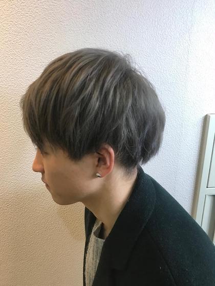 グレーソフトマッシュ👊🏽🐺 Aguhair three所属・トップスタイリスト★英山大樹のスタイル