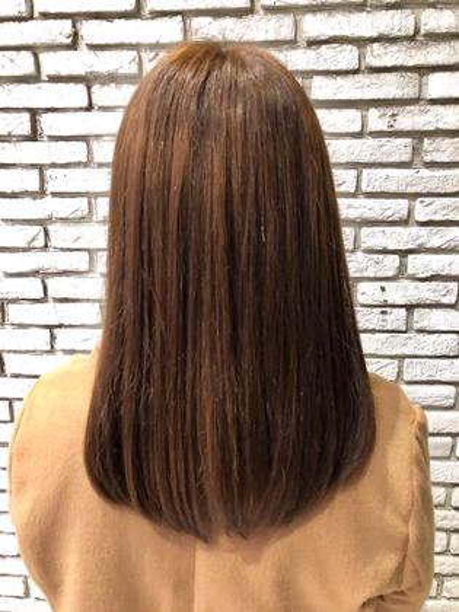 藤原尚哉のセミロングのヘアスタイル