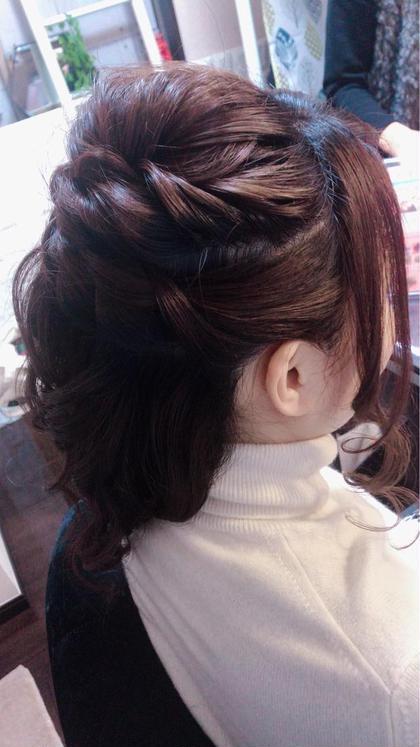 前髪やサイドの髪まで丁寧に仕上げます✨ カウンセリングにて気になる部分をカバーしながらご予定に合わせたヘアメイクをしていきます🎵 MARIA'SFACTORY所属・hair&makeMiiのスタイル