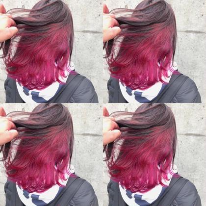 カラー ミディアム  pink