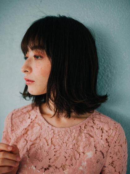 L'oeuf人気メニュー【似合わせカット+nanoトリートメント】