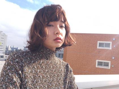 hair by hayato  #sistahair #sistahayato #ハイライト #チップハイライト #外ハネボブ #リバースカール SiSTA【シスタ】所属・佐藤隼人のスタイル