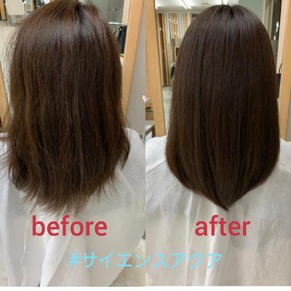 1度だけご利用可能💮いま話題の!✴️髪質改善✴️【サイエンスアクア】