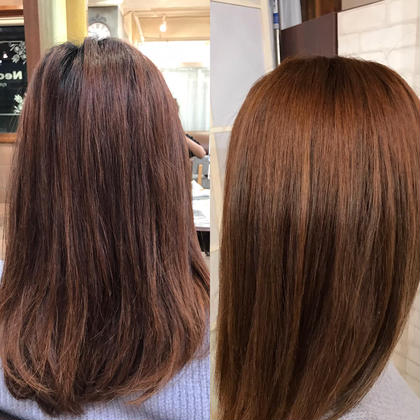 before→after Neolive   krea所属・千田和沙のスタイル