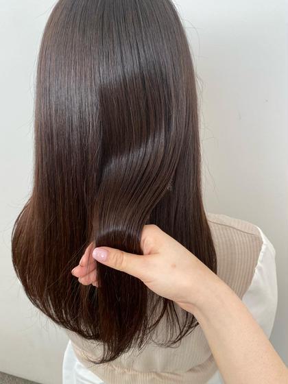 《似合わせカット》+《髪質改善トリートメント》