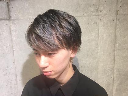 platinum silver✨ EARTH大和店所属・窪田優也のスタイル