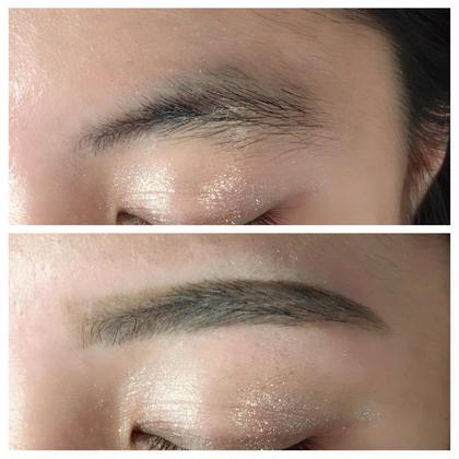◎アイブロウスタイリング◎ waxで不要な毛を取ってスッキリ綺麗な眉に! beautygarden所属・湯浅恵のフォト