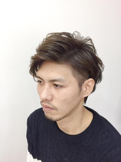 忍田祥太のパーマ