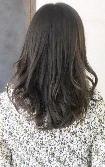 今月限定✨黒染めではなく、暗髪✨ 黒髪っぽくみせるダークカラー⭐️