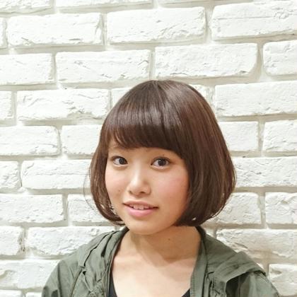 ヘルシーベージュでやわらかさを‼ BLOCK hairmake所属・原田祥彰のスタイル