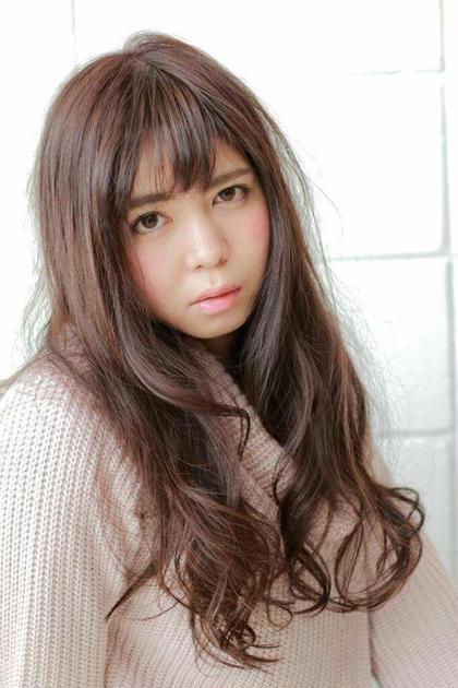 ピンクベージュで、可愛らしいさアピール♡ HAIR Dco所属・ヘントナショウゴのスタイル