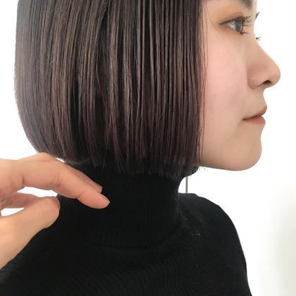 カラー シアーなラベンダーグレージュ^^ . タートルにmini bobかわい! . . . .  #hair #hairstyle #hairstyles #hairarrange #haircolor #haircut #bobhaircut #bob #ヘアカット #ヘアカラー #ハイライトカラー #ヘアアレンジ #ボブアレンジ #ボブ #ボブヘアー #ミニボブ #グレージュカラー #グレージュ #グレー #グレーカラー #美容室#美容師 #渋谷美容師