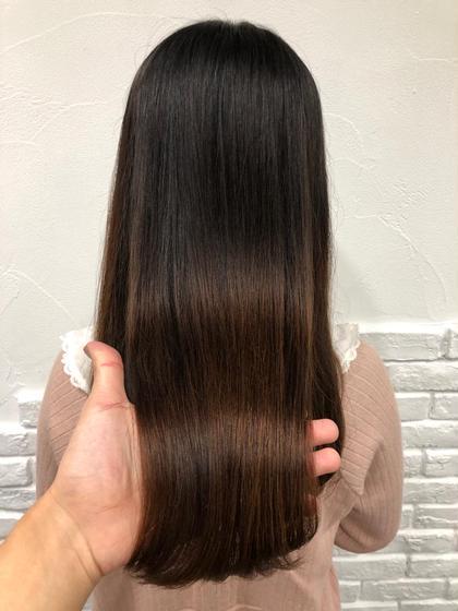 その他 カラー キッズ ネイル パーマ ヘアアレンジ マツエク・マツパ メンズ ロング 🎀髪質改善シルクカラー🎀 カラーするだけで天使の輪が3つも出来るほど艶が出るオリジナルカラー💘💘💘