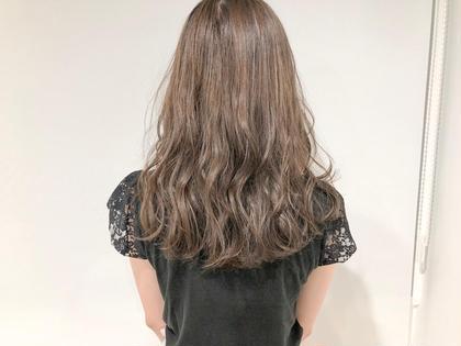 💖ダメージが気になる方に💖 前髪カット+透明感カラー+集中補修トリートメント