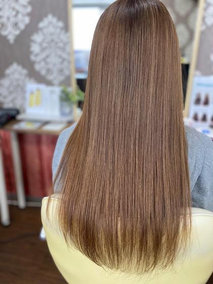 [7月限定☆特別価格]☆髪質改善4ステップトリートメント&前髪カット