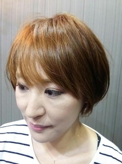 ふんわりショート hair make faith所属・鏑木大輔のスタイル