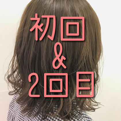 【7月限定Lady'sクーポン】✂️前髪カット+カラーorパーマ✂️