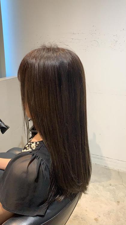 ✨髪質改善縮毛矯正+カット+炭酸泉付きトリートメント✨