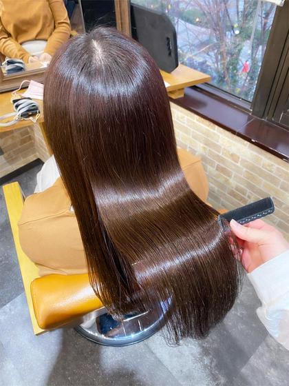 ✨💎1日3名限定💎✨前髪カット無料+うる艶カラー+Aujuaトリートメント¥6000