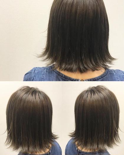 ✨人気No.1✨【艶を重視したフルコース】✴︎カット & 髪質改善カラー& TOKIO TR✴︎