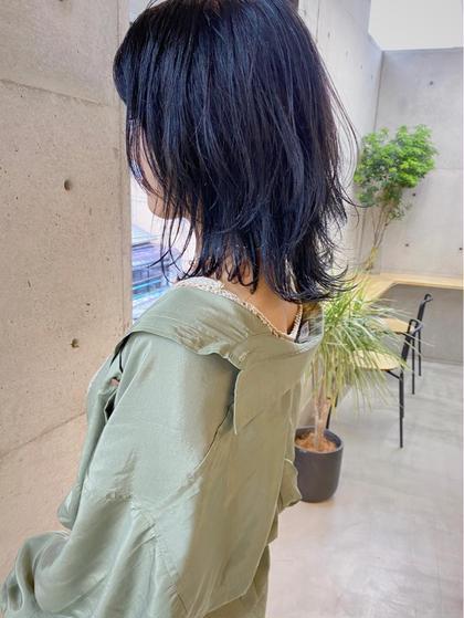 【カット+カラー+Global Milbonシステムトリートメント】一人一人の髪質に合わせオーダーメイドのヘアケアを。