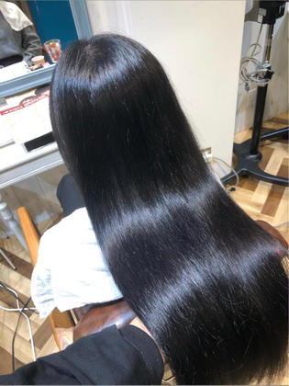 【本日 限定】【人気N.o1】♥️FORTE自社開発の髪質改善プラチナシステムで髪をサラツヤヘアへと変身👍🏻