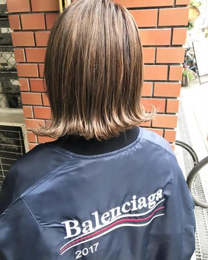 【ミニモ春きゅん】カット & 赤味抹消キャラデコカラーカラー&毛髪補修トリートメント