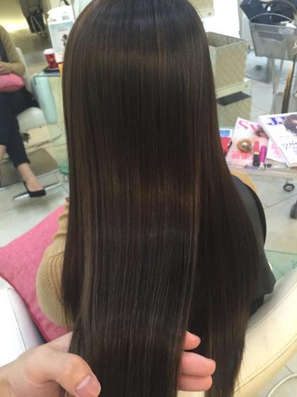 細かく入ったデザインカラーとAujuaトリートメントで最高のサラツヤ髪に♪ MODE K's Briller モードケイズ ブリエ所属・白川響のスタイル