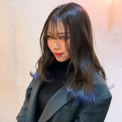 【🌈人気No.2🌈】インナーカラー💘or裾カラー🦋《最高級ケアブリーチ🍯+シルク成分✨トレニージョカラー🦄》