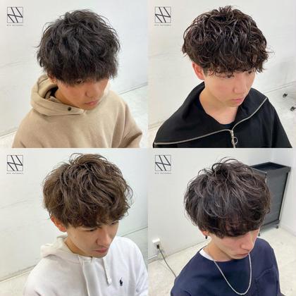 🔥👑メンズ人気No.1👑🔥ツイストスパイラルパーマ🔥+似合わせメンズカット+髪質改善高保湿4STEPトリートメント🌿