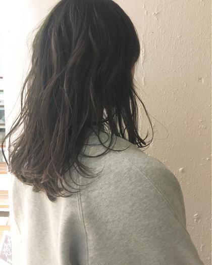 明るすぎず暗すぎず! 透明感、抜け感のあるカラーです! KENJE横浜所属・ひのすぎきこのスタイル