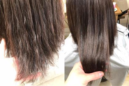 一度やったら癖になる❣️髪質改善トリートメント✨+カット