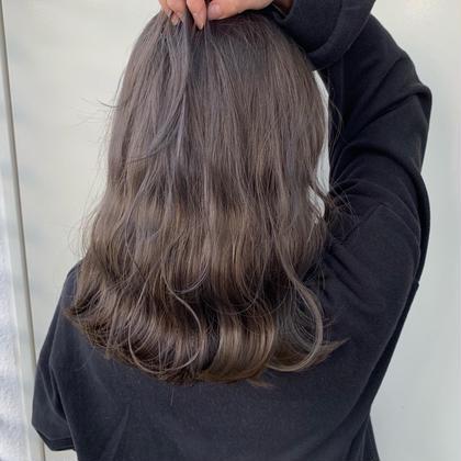 カット+髪質改善サイエンスアクアinイルミナカラー+最高級TOKIOトリートメント🛁𓈒 𓂂𓏸