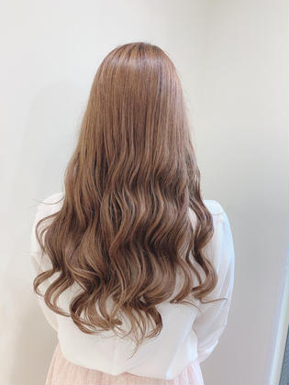 【⚠️平日限定⚠️】透明感カラー&髪質改善プリンセストリートメント【応援してくれる方限定】