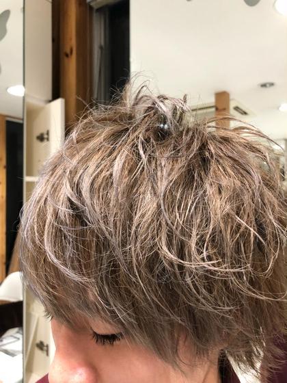 メンズ 外国人風カラー 坂井岬のメンズヘアスタイル・髪型