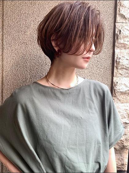 💎土日予約限定特別メニュー💎《似合わせショートカット》👑髪質に合わせたプレミアムトリートメントサービス👑