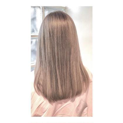 【#お年玉メニュー】Wカラー & Aujuaトリートメント、前髪カットつき