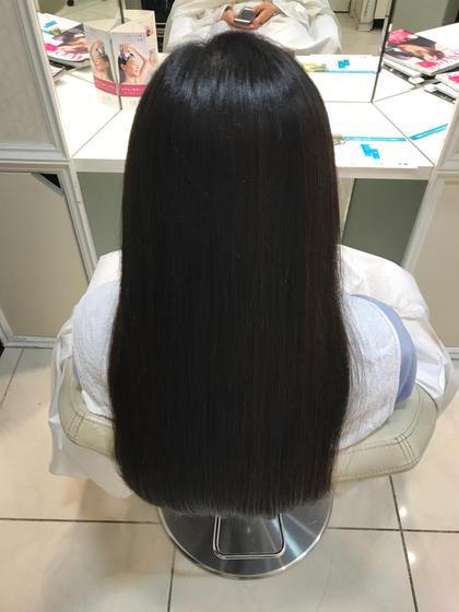 【サラツヤ】縮毛矯正+カット
