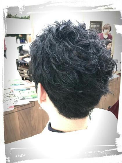 ワイルドなソフトツイストカール♪<バック> 美容室 salon de craft所属・澤田拓己のスタイル