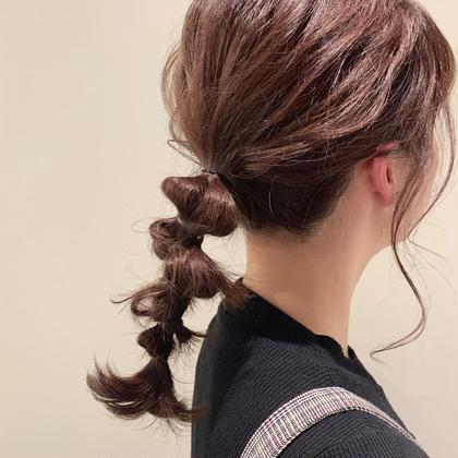 大切な日のヘアセット