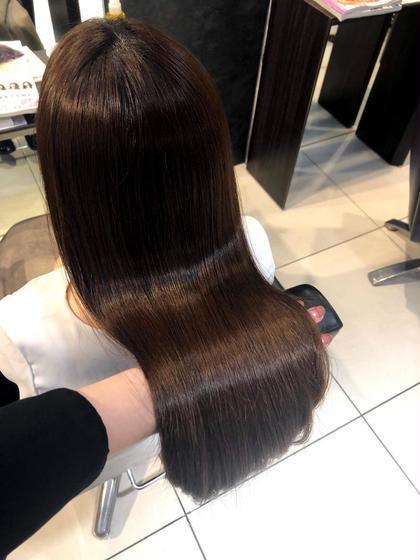 8月限定🌈頭皮スッキリヘッドスパ付き🌈髪質改善トリートメント✨❣️
