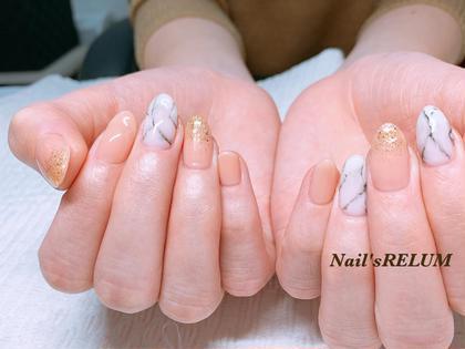 大理石nail