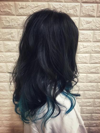 💫インナーカラー💫ポイントブリーチ➕高発色カラーモデル