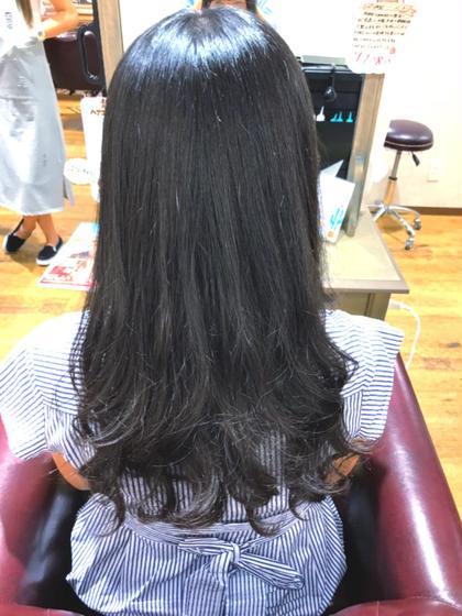 カット & 髪質改善デジタルパーマ & トリートメント